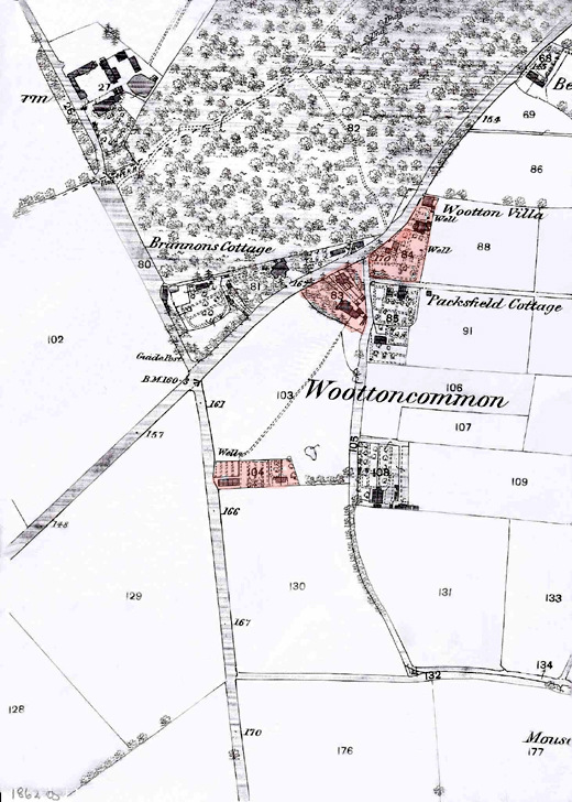Map of Wootton Common